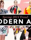 Modern Art Making Waves for Spring