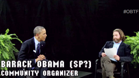 President Obama on 'Between Two Ferns' | StyleCaster