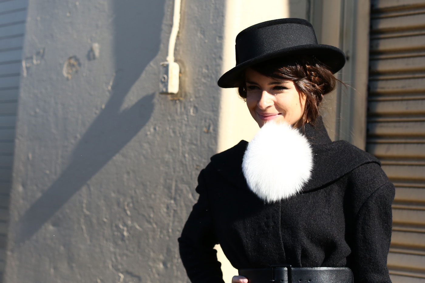 pom pom fur 15 Signs Youll Never End Up on a Street Style Blog