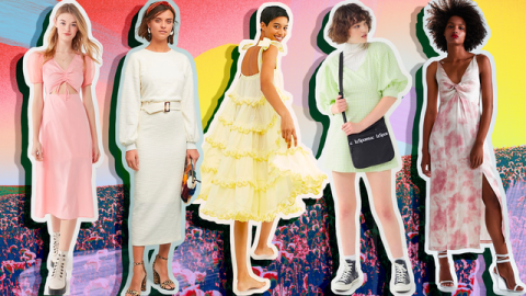 99 Spring Dresses to Shop, Because It's Finally Warm Outside (!!) | StyleCaster