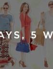 5 Days, 5 Ways: City Sandals