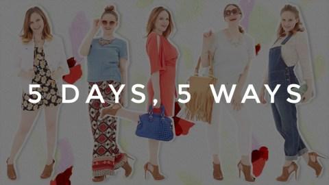 5 Days, 5 Ways: City Sandals   StyleCaster