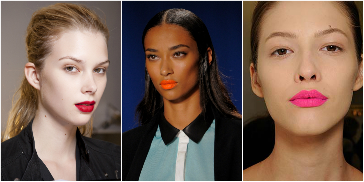 bright lipstick pink orange red1 9 Easy Ways to Break Out of a Style Rut