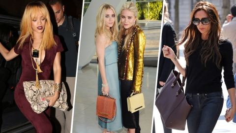 12 Celebs With the Best Designer Bags | StyleCaster