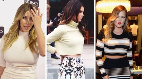Kardashian Crop Top Addiction | StyleCaster