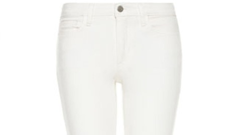 Found: Unstainable White Jeans | StyleCaster