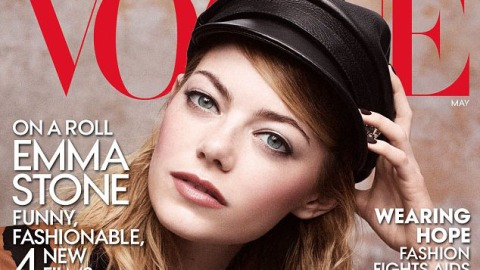 Emma Stone: Vogue's Post-Kimye Cover | StyleCaster