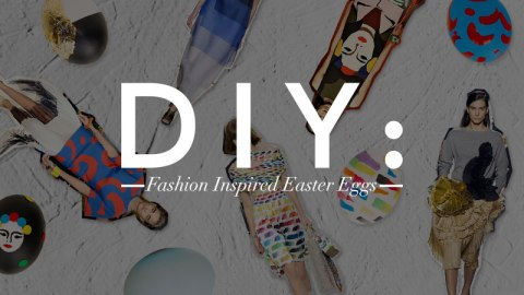 DIY Fashion Easter Eggs! | StyleCaster