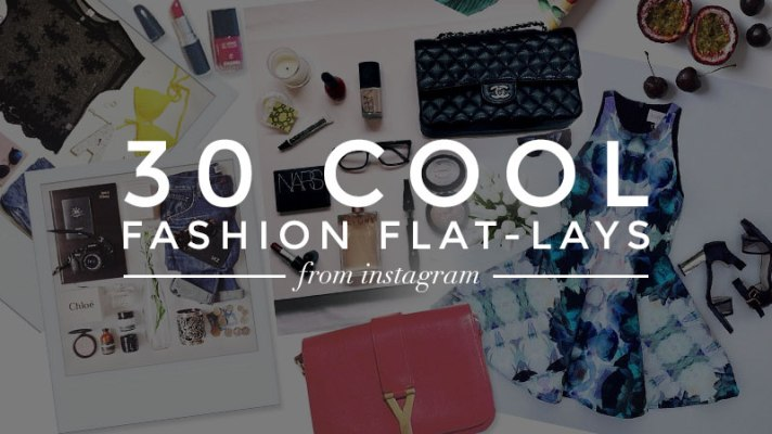 30 Fashion Flat Lay Photos From Instagram