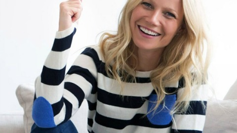 Gwyneth Paltrow's Living Room Makeover: The Before and After | StyleCaster