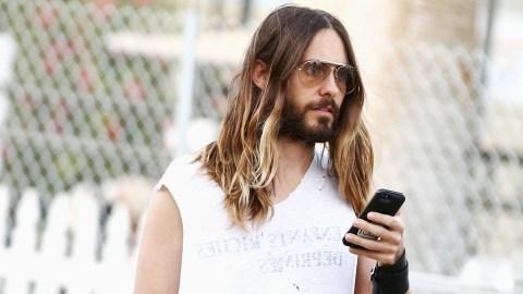 Jared Leto in Saint Laurent at Coachella | StyleCaster