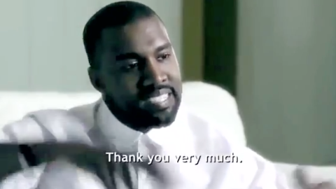 Watch Kanye's Bizarre Tribeca Speech | StyleCaster