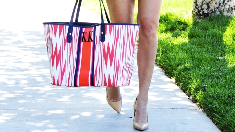Found: Kourtney Kardashian's Cute Tote | StyleCaster