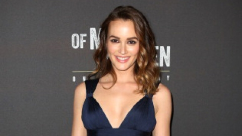 Leighton Meester Killed It in Versace | StyleCaster