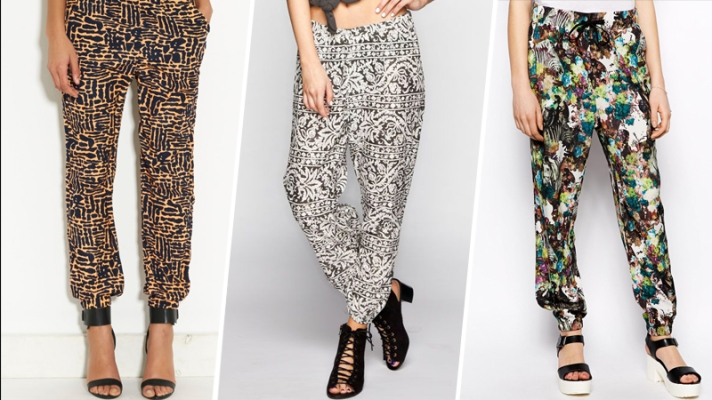 15 Bold Pairs of Patterned Pants to Try This Spring