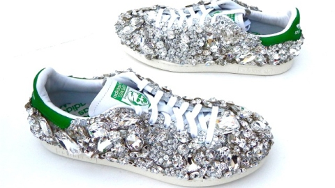 All About Pharrell's Swarovski Sneakers | StyleCaster