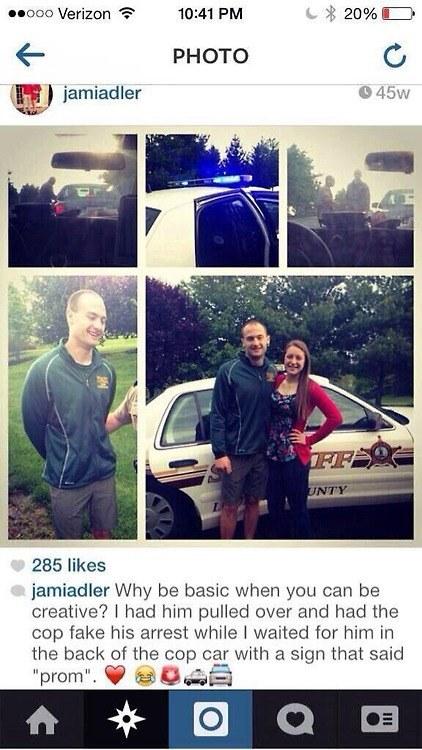 promposal arrest