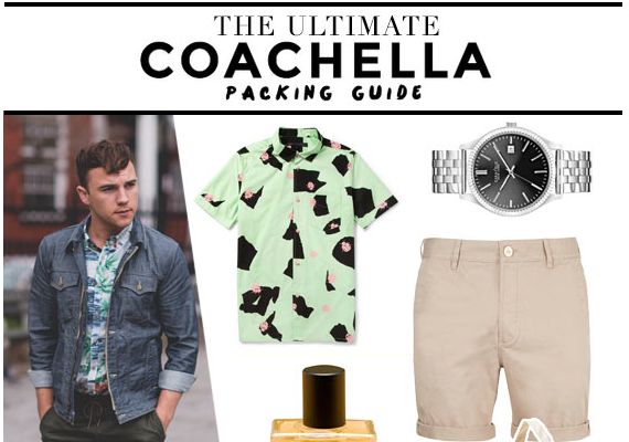 The Ultimate Coachella Packing Guide By Scout Sixteen's Justin Livingston