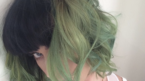 Katy Perry Has Green Hair | StyleCaster