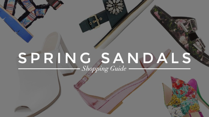 50 On-Trend Sandals You Need This Spring