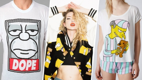 19 Rad 'Simpsons' Fashion Collabs | StyleCaster