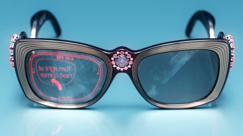Google Glass, If Designed by Prada | StyleCaster
