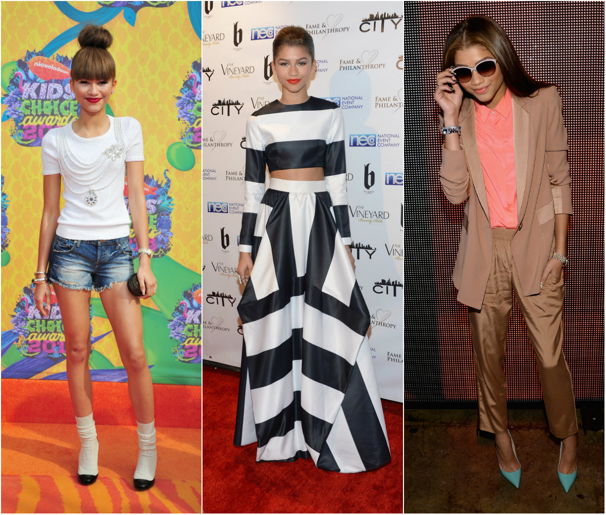 zendaya coleman style Why a New Breed of Teen Stars are Important to the Fashion Industry