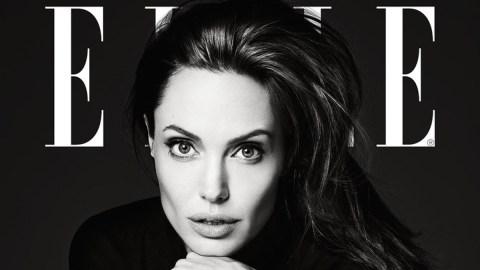 Angelina Jolie Looks Incredible in Elle | StyleCaster