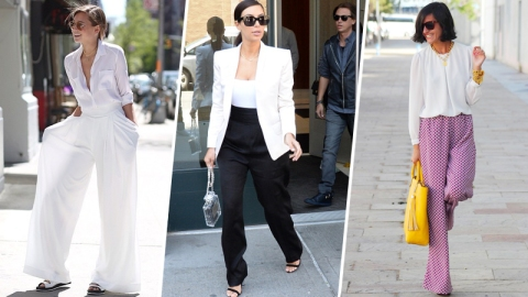 How to Wear Wide-Leg Pants   StyleCaster