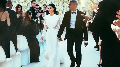 First Pics of Kim K's Wedding Gown Are Here | StyleCaster