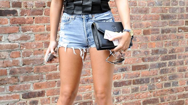 how to make denim shorts