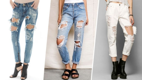 15 Pairs of Ridiculously Ripped Jeans | StyleCaster