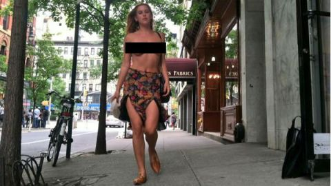 NSFW: Scout Willis Goes Topless | StyleCaster