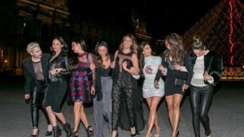 Pics From Kim's Bach Party In Paris! | StyleCaster