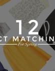 12 Matchy-Matchy Sets