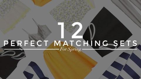 12 Matchy-Matchy Sets  | StyleCaster