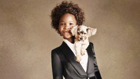Quvenzhané Wallis: New Face of Armani | StyleCaster