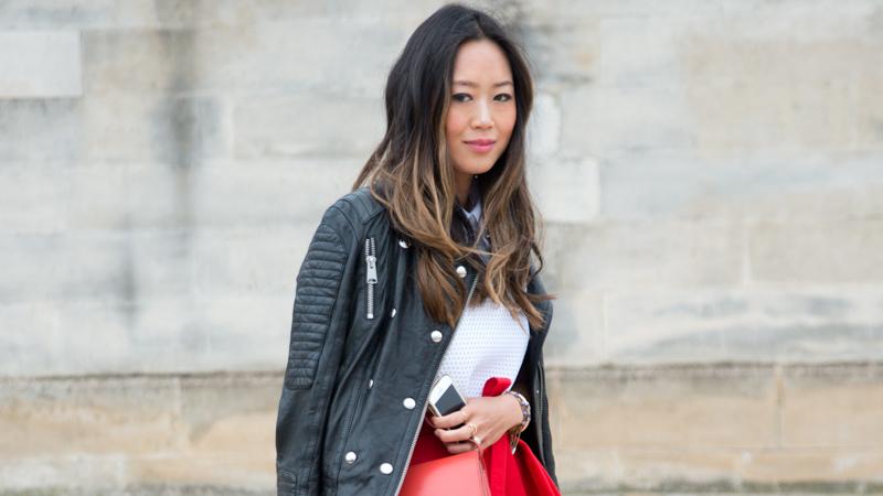 Street Style - Day 5 : Paris Fashion Week - Womenswear Fall/Winter 2014-2015