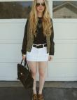 The White Denim Skirt Is Back