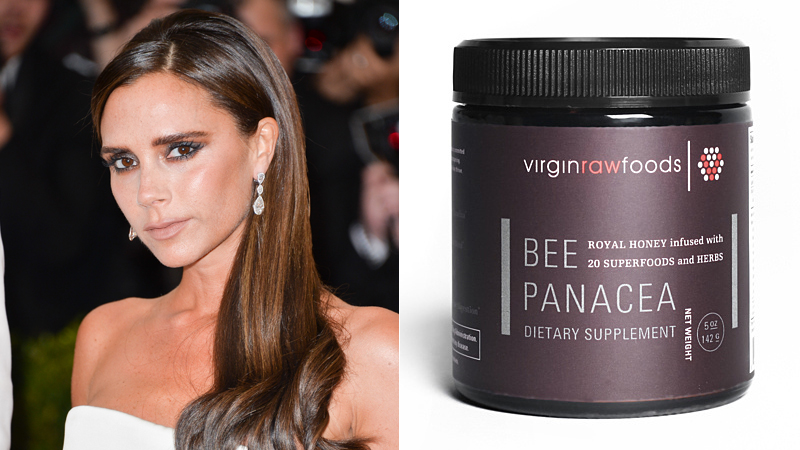beckham Victoria Beckhams New Superfood Discovery: Bee Panacea