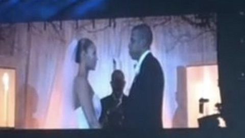 Bey and Jay Wedding Video! | StyleCaster