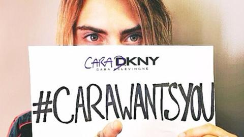 Cara Delevingne Designing For DKNY | StyleCaster