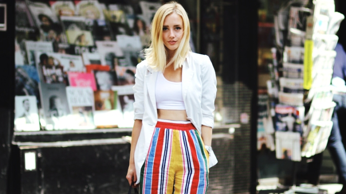 25 Cute Crop Tops Worn by Street Style Stars and Fashion Bloggers