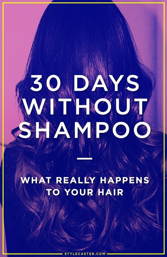 How to go no-poo and what it does to your hair | @stylecaster
