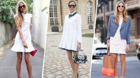 12 Ways To Wear a Little White Dress | StyleCaster