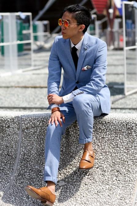 street style suit