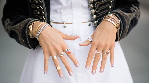 Sparkling Eternity Rings That Are Made for Stacking — No Partner Required | StyleCaster