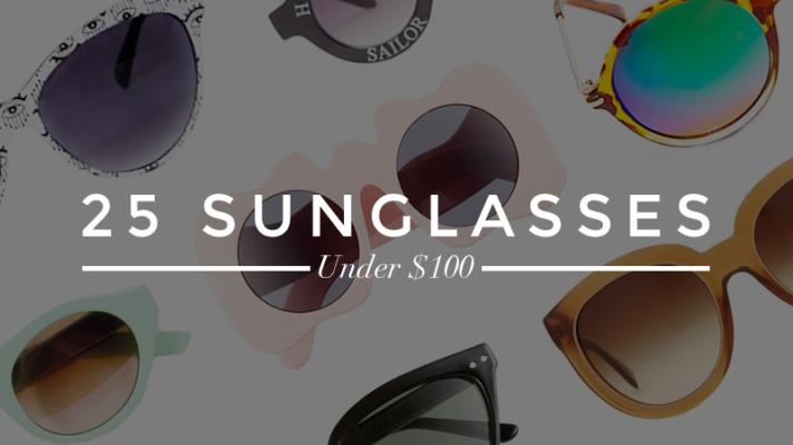Summer's Coolest Sunglasses For Under $100