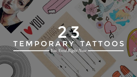 22 Fake Tattoos You'll Wish Were Real | StyleCaster