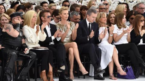 Celebrities Front Row at Couture | StyleCaster